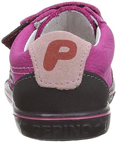 Ricosta NIPPY(M) - Zapatos de primeros pasos de cuero bebé Pop Pink