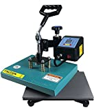 ePhotoInc NEW Swing Away Digital T shirt Heat Press Transfer sublimation Machine T Shirt Heat Press Machine ZP9GB