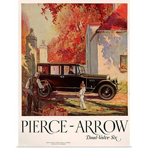 Great Big Canvas Poster Print Entitled 1920's USA Pierce-Arrow Magazine Advert 27
