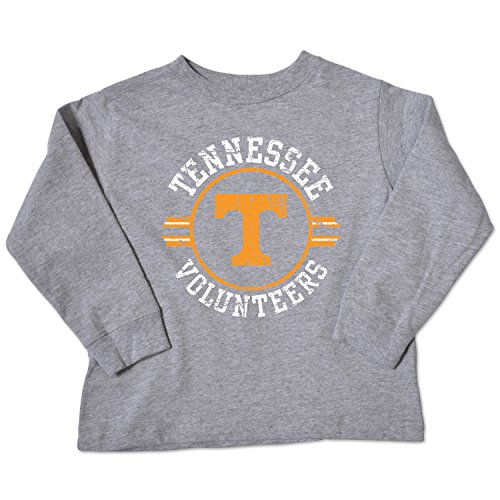 NCAA Tennessee Volunteers Toddler Long Sleeve Tee, 2 Toddler, Oxford