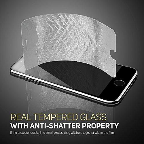 iPhone 8 Plus Glass Screen Protector, iPhone 7 Plus Glass Screen Protector Defenslim by Witkeen Ballistic Tempered Glass Screen Protector iPhone 8 Plus iPhone 7 Plus, (2-Pack) Case Compatible by WITKEEN (Image #8)