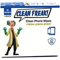CLEAN FREAK Phone Wipes for Smart Phones, Electronics and...