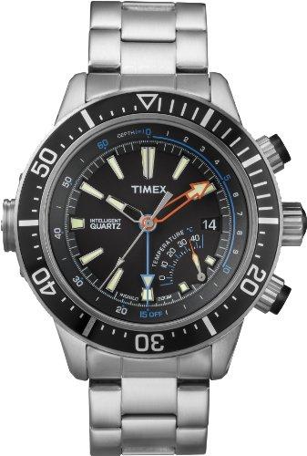 Timex Intelligent Quartz T2N809 Mens Indiglo Depth Gauge ...