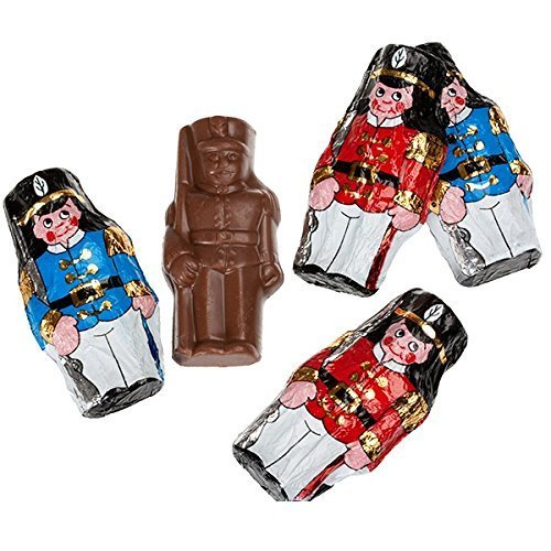 Foiled Wrapped Chocolate Soldiers, 1LB