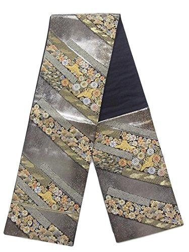 写真解決ギャラリーリサイクル 袋帯  鹿の子小袖文 正絹 六通