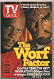 TV GUIDE VINTAGE STAR TREK WORF & DEEP SPACE 9 1995