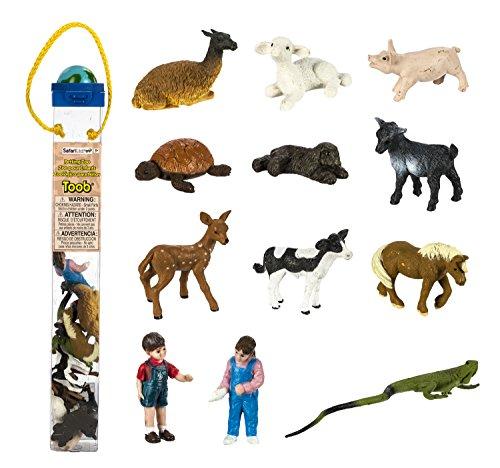 Safari Ltd Petting Zoo TOOB