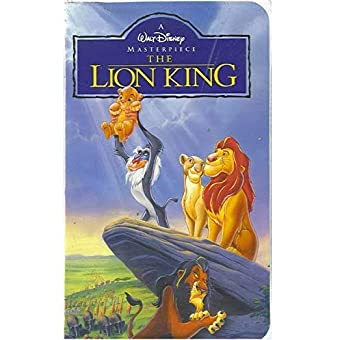 Amazon com: The Lion King [VHS]: Matthew Broderick, Jeremy