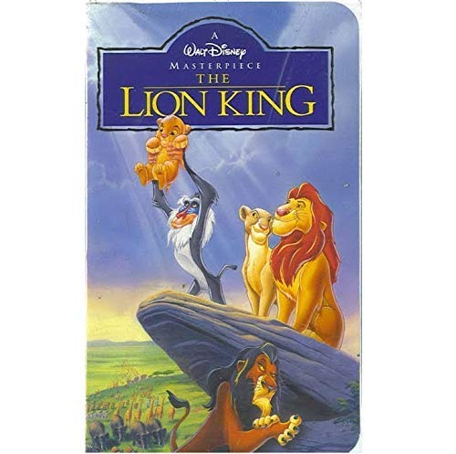 The Lion King [VHS]