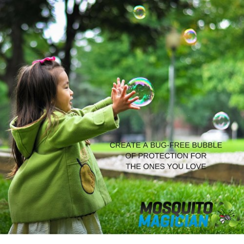 Mosquito Magician Pump Up Sprayer with 1 Gallon Natural Mosquito Killer & Repellent Concentrate by Mosquito Magician (Image #3)