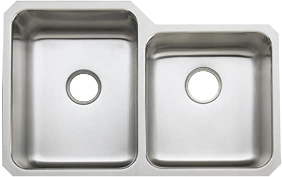 Kohler K 3177 Na Undertone Large Medium Undercounter Kitchen Sink Stainless Steel Double Bowl Sinks Amazon Com