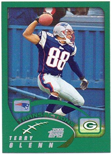 Terry Glenn 2002 Topps #287 - New England Patriots - Ohio 2002 Football State Buckeyes