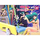 Gashapon Urusei Yatsura all five set is was a darling Love on top of the desk