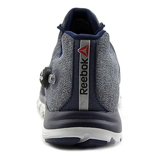 Reebok Zpump Fusion Men Us 10.5 Blue Running Shoe
