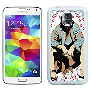 Hot Sale Samsung Galaxy S5 i9600 Cover Case ,The Big Lebowski White Samsung Galaxy S5 i9600 Phone Case Unique And Fashion Design