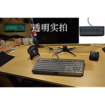 Transparent Clear Silicone Keyboard skin Covers guard for Razer BlackWidow Ultimate 2016 Mechanical Gaming Keyboard