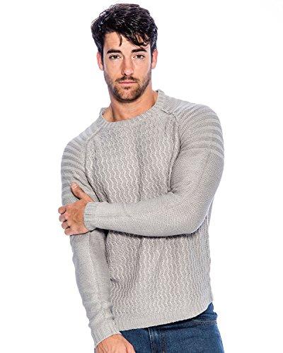 Acrylic Crewneck Sweater - 8
