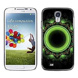 TopCaseStore / la caja del caucho duro de la cubierta de protección de la piel - Indian Oriental Floral - Samsung Galaxy S4 I9500
