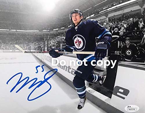 (Mark Scheifele Autographed Signed Winnipeg Jets Memorabilia JSA Certified 8x10 Photograph)