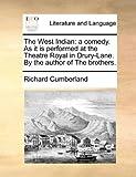 The West Indian, Richard Cumberland, 1170629873