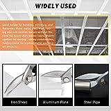 Rustark 2 Pcs Metal Sheet Tools Set Includes