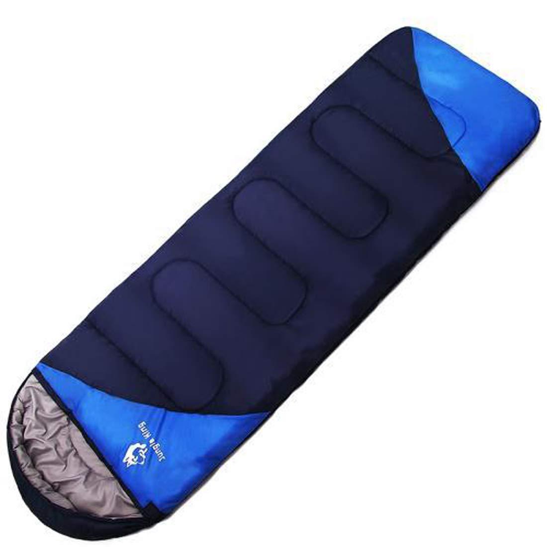 UICICI Schlafsack warmes Feld tragbare Umschläge warme tragbare können zusammen doppelte atmungsaktive Schlafsäcke Wild geeignet geeignet für Outdoor-Camping