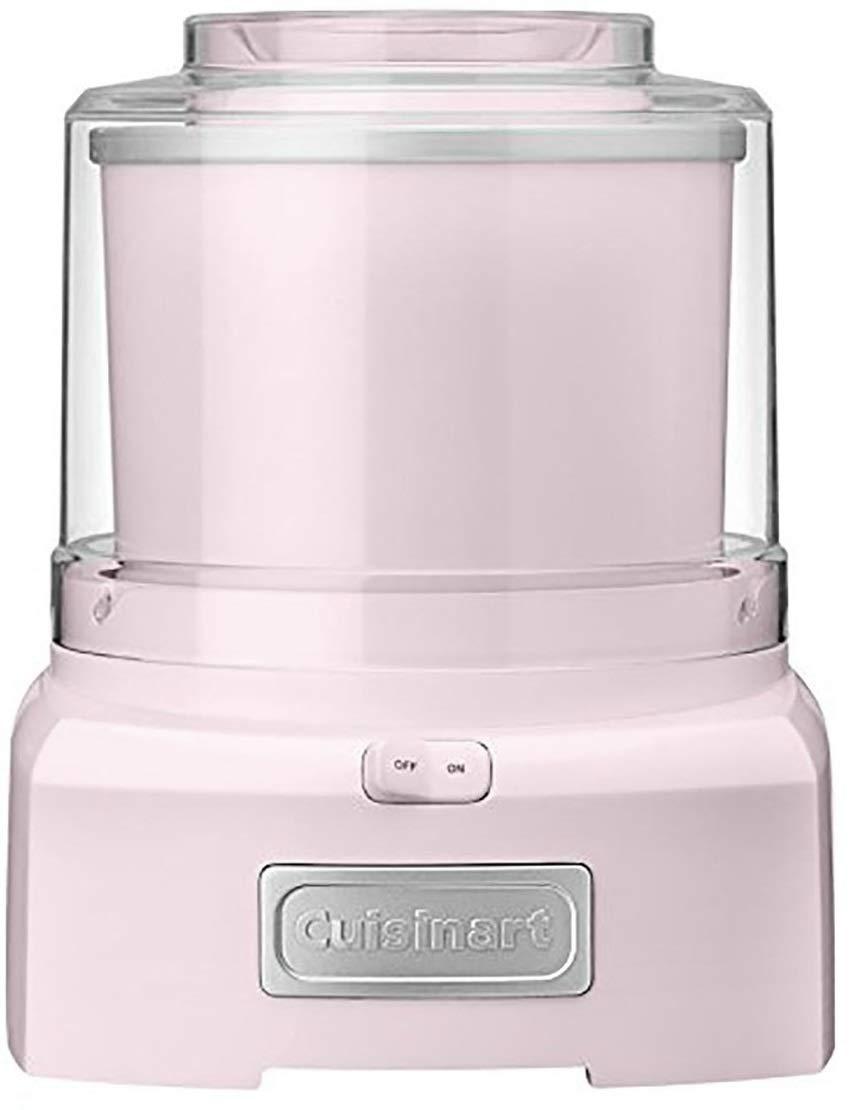 Cuisinart ICE-21PBLK Frozen Yogurt - Ice Cream & Sorbet Maker - Pink