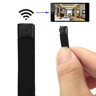 SpyGear-Spy Camera, Totoao HD Mini Portable Hidden Camera P2P Wireless Wifi Digital Video Recorder for IOS Android Phone APP Motion Detecting - Totoao