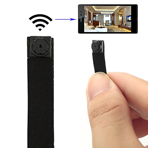 Spy Camera, Totoao HD Mini Portable Hidden Camera P2P Wireless Wifi Digital Video Recorder for IOS Android Phone APP Motion Detecting (Mini Cameras Spy)