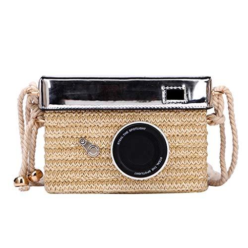 Women Beach Bag Camera Model Bag Women 's New Zipper Crossbody Messenger Shoulder Bag Handbag