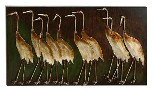 Deco 79 13695 Metal Bird Wall Plaque Unique Garden Decor