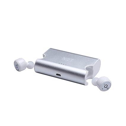 Mini Auricular Bluetooth, Auriculares Inalámbricos De Doble V 4.2 Auricular Bluetooth, Micrófono Incorporado Y
