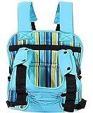 Baby Bucket Multi-Function Car Cushion Stripes Print Baby Carrier (Blue)