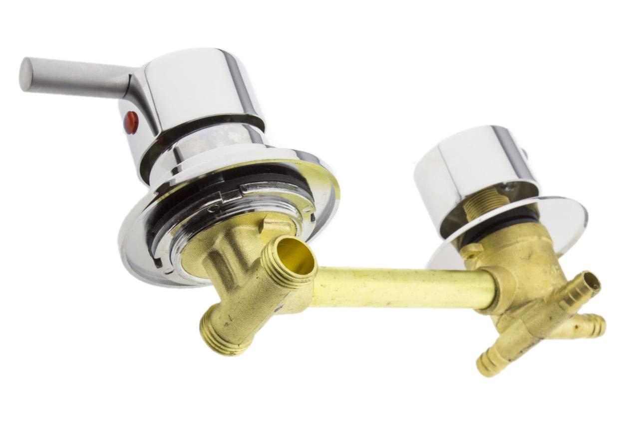 Valvola Miscelatrice Doccia Incasso con Deviatore Doccia 4 Funzioni Miscelatrice Uscita Acqua G414