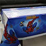 Party Propz Happy Birthday Party Spiderman Theme Table Covers