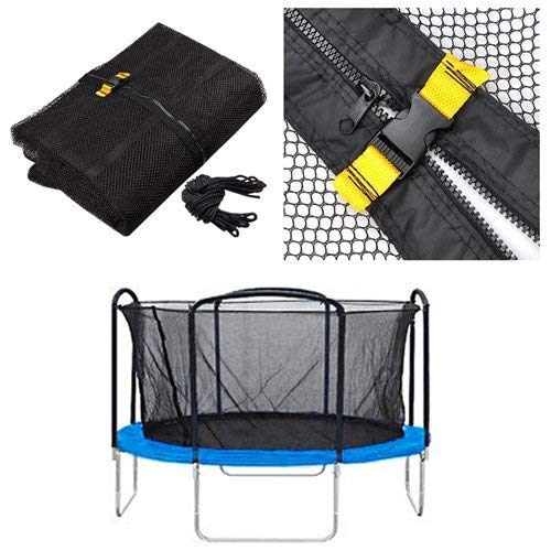Amazon.com: 13 Trampoline Enclosure cierre de malla Red de ...
