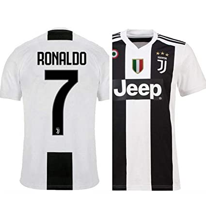 premium selection b500b 4c75d aaDDa Juventus Home Ronaldo Printed Set with Shorts 2018-2019