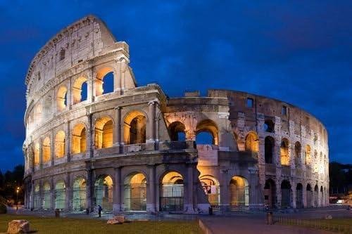 """Roman Colosseum Art Poster 24/""""x36/"""" coliseum"""