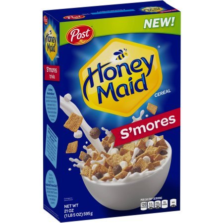 Post Honey Maid S'mores Cereal - 1lb 5oz Box