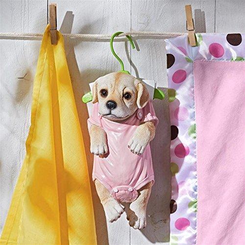 Puppy Dog Statue (Design Toscano QM2928300 Hanger Hound Puppy Dog Statue)