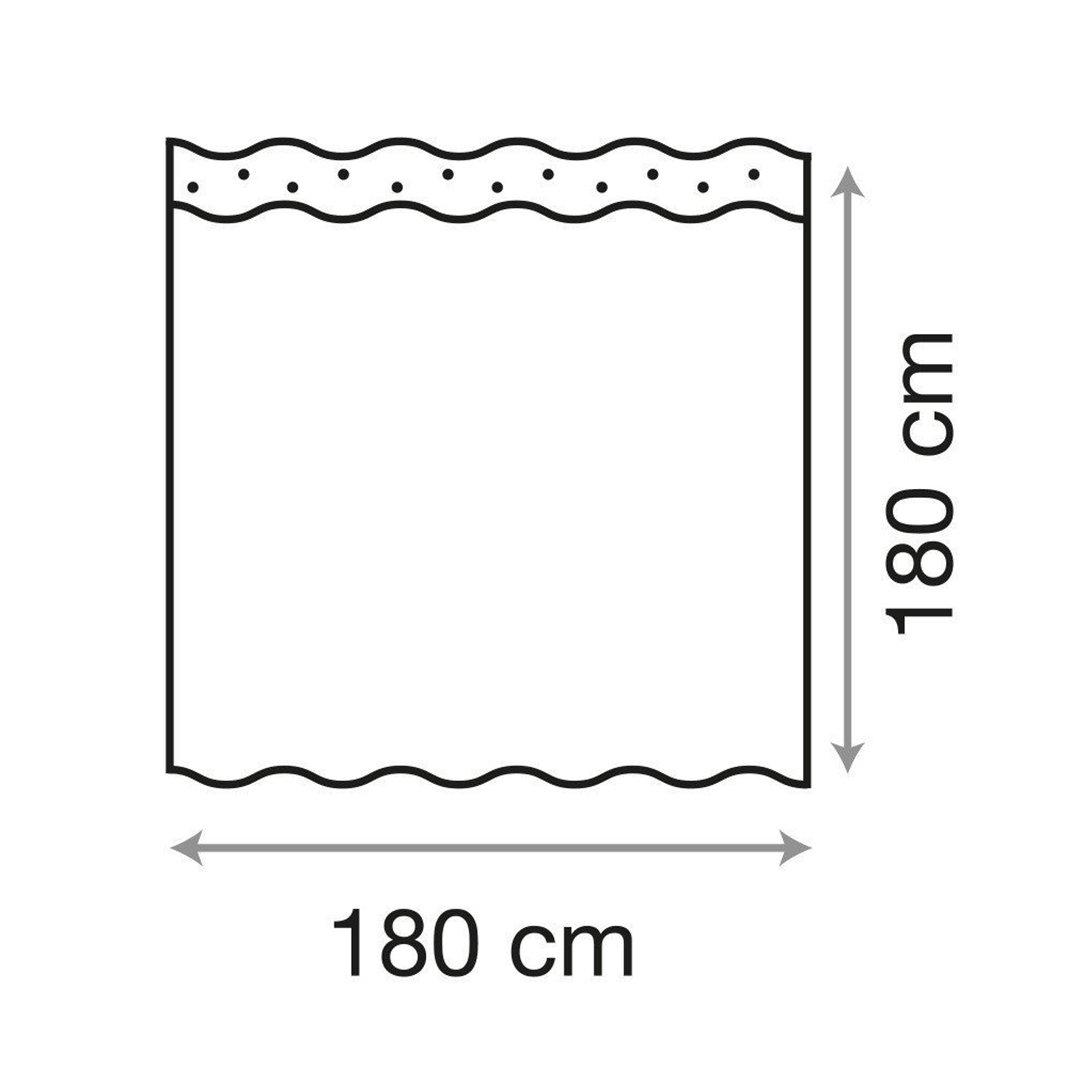 Anelli di Tenda Albero Nero HuaForCity/® 100/% Poliestere Morbido Anti-muffa WaterProof Tende da Bagno Tenda da Bagno pi/ù Spessa con Ganci larghezza x altezza Tenda Doccia 180X180cm