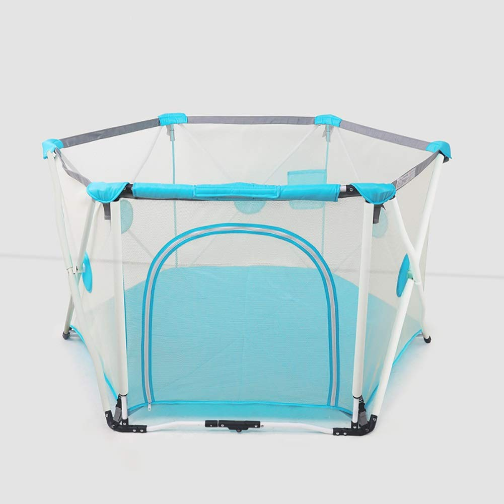 折りたたみ遊びPlaypens再生庭子供のための屋内屋外クローリングボールプール玩具遊び場ベビーセーフティフェンス (色 : Style 2)  Style 2 B07GJSZ2RX