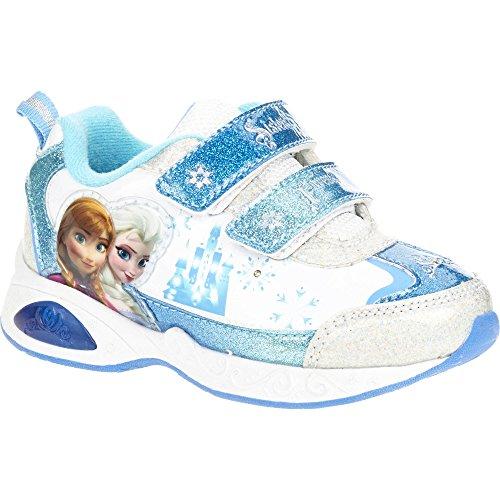 Disney Frozen Anna und Elsa Kinder Mädchen Schuhe Sneaker Turnschuhe Olaf der Schneemann (US11 EU28.5)