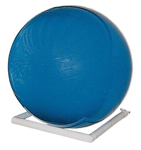 Storage Rack, Exercise Ball, Wall-mount, White by RiversEdge Products