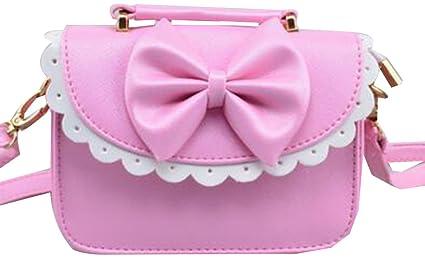 448a6229ef Bella borsa per bambine, borsa a tracolla per ragazze, borsa a tracolla per  ragazze Fashion [B]: Amazon.it: Prima infanzia