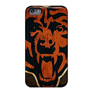 TraciCheung Apple Iphone 6 Plus Anti-Scratch Cell-phone Hard Cover Allow Personal Design Trendy Chicago Bears Skin [Rxw15105jTzV]
