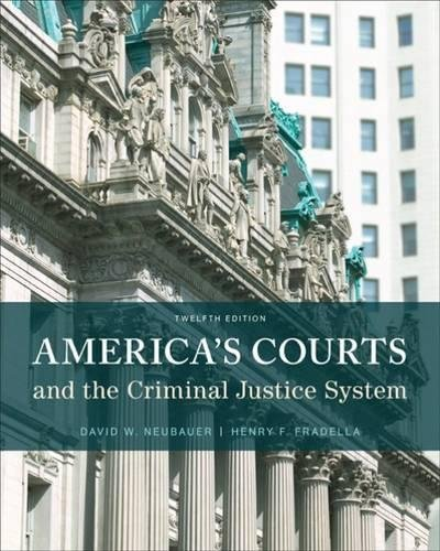 America's Courts and the Criminal Justice System cover