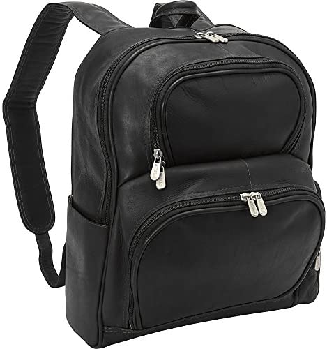 Piel Leather Half-moon Laptop Backpack