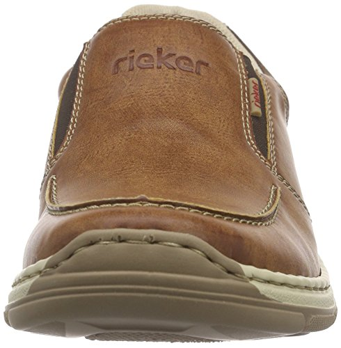 Rieker 15260 Loafers & Mocassins-Men - Mocasines Hombre Marrón (peanut/cigar/chalk / 24)