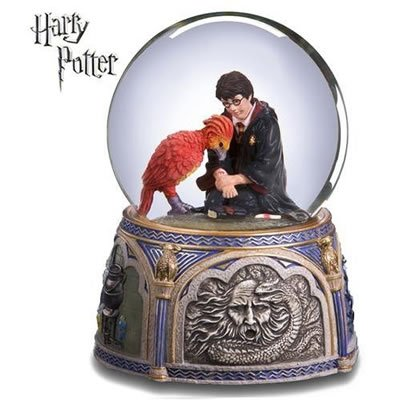 Harry Potter Fawkes Chamber Of Secrets Music Box Import It All